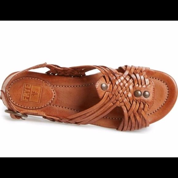 200d29ad824a2 Frye Shoes - Frye Jacey Huarache Slingback Sandal 9.5